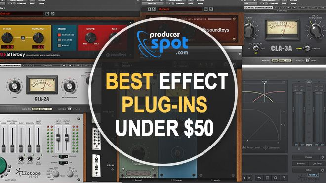 Best 10 VST Effect Plug-ins