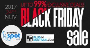 Black Friday 2017 VST Plugins Best Deals