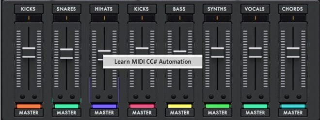 Klip Kontakt MIDI Learn