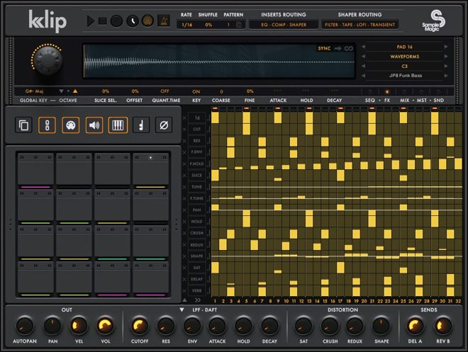 Sample Magic KLIP Kontakt Drum Machine
