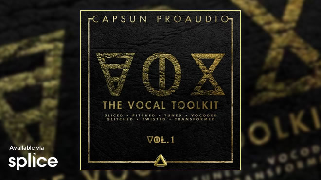 VOX - The Vocal Toolkit Vol. 1