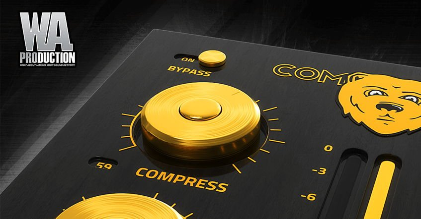 ComBear VST Compressor W. A. Production