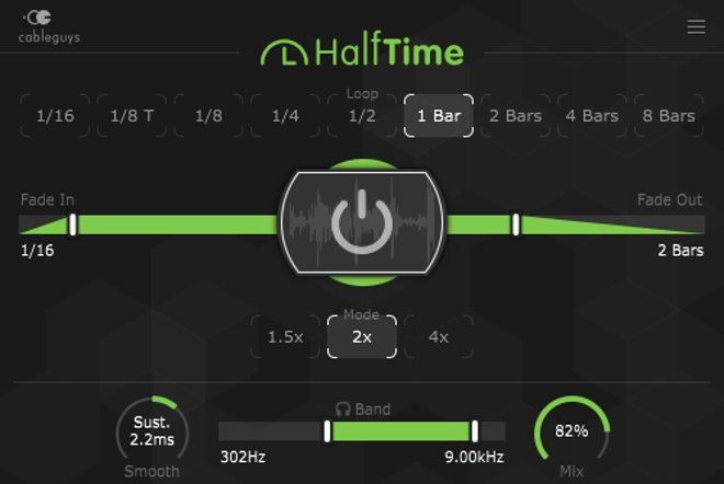 Halftime Multi Effect Plug In Released By Cableguys