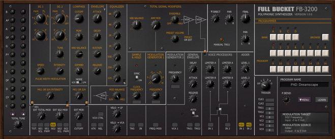 FB-3200 FREE Synthesizer Plugin