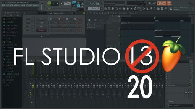 FL Studio 20 is FL Studio 13
