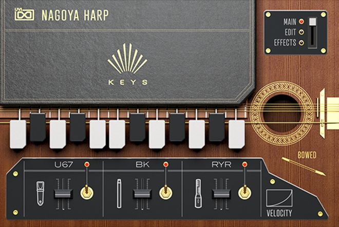 Keys Virtual Instrument