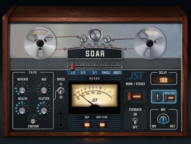 SOAR Delay Plugin by Joey Sturgis Tones