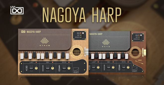 Nagoya Harp Virtual Instruments Released by UVI • ProducerSpot