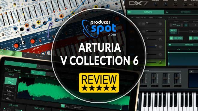 Review Arturia V Collection 6
