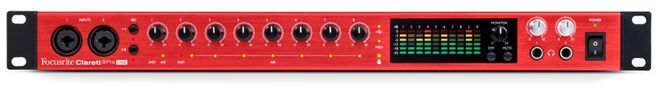Focusrite Clarett 8Pre USB Audio Interface