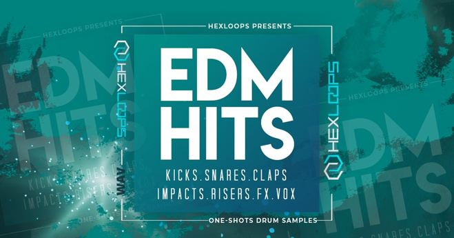 EDM Drum Kit, EDM Drum Samples