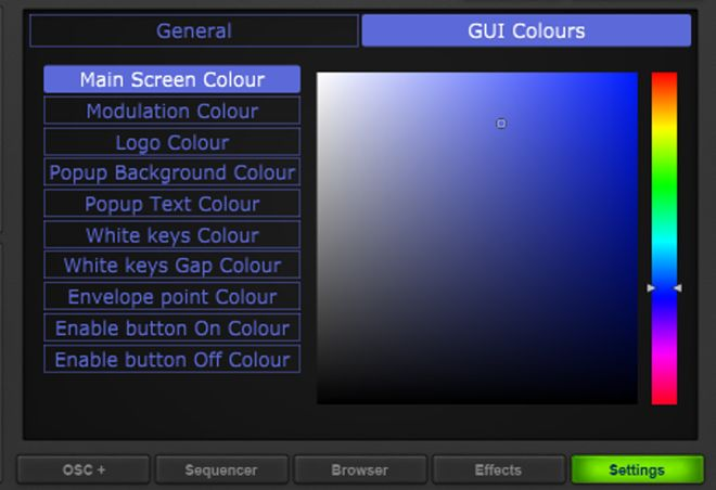 Sektor GUI Colors