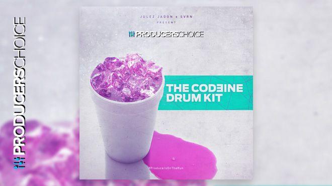 The Codeine Trap Drum Kit 2018