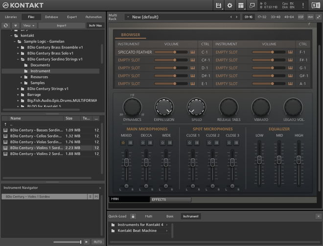 Century Strings Bundle for Kontakt