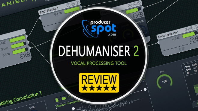 Dehumanizer 2 Vocal Processing Plugin