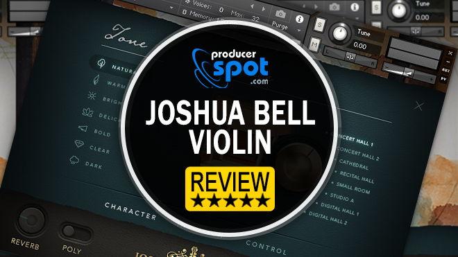 Joshua Bell Violin Kontakt Instrument by Embertone