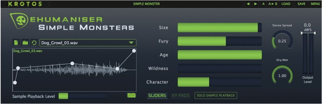 Krotos Simple Monster