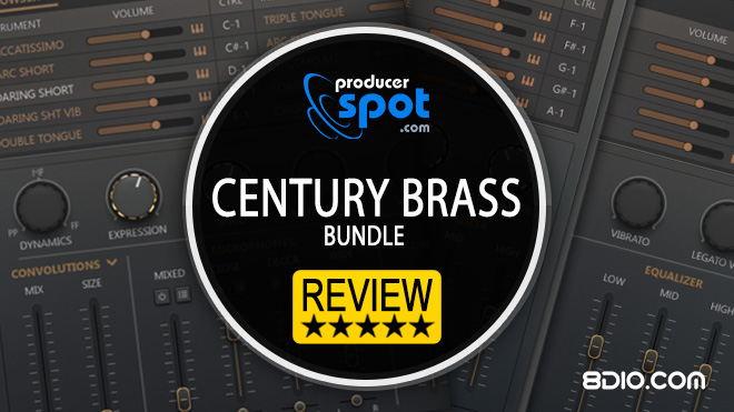 8Dio Century Brass Kontakt (VST) Instrument
