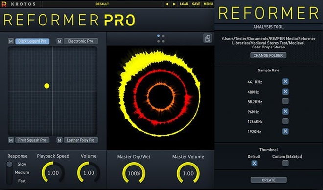 Reformer Pro Sound Design Plugin
