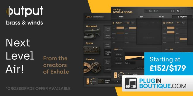 Output Analog Brass Winds Kontakt Instrument