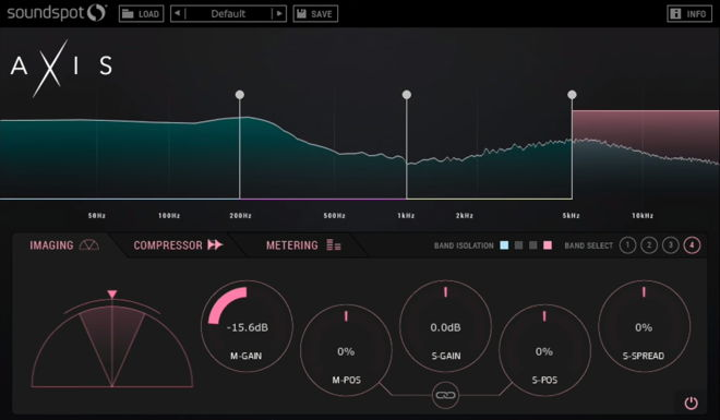 Axis Multi-Effect Plugin by SoundSpot