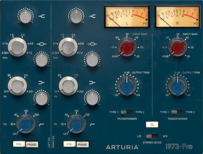 Arturia 1973-Pre VST Plugin