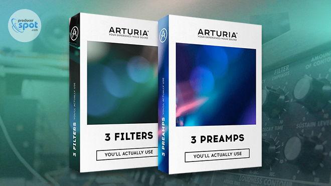 Arturia 3 Filter 3 Preamps VST Plugins 2018