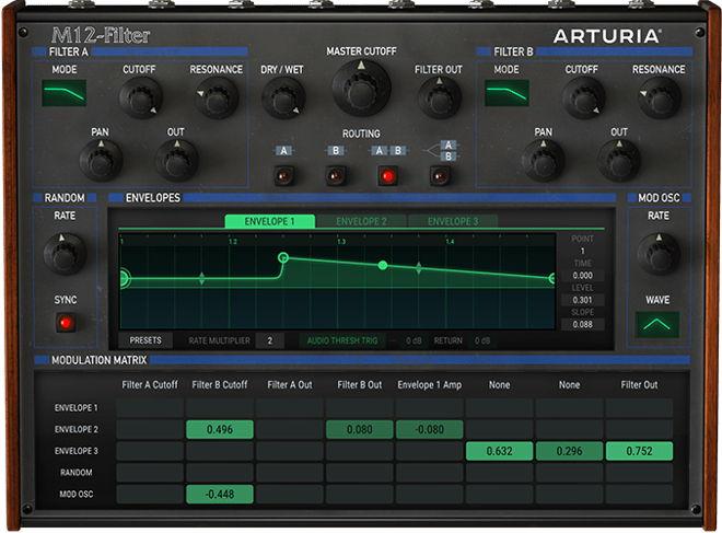 Arturia M12-Filter VST Plugin