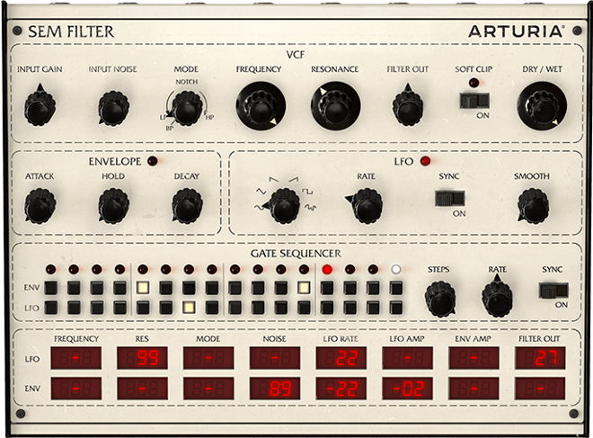 Arturia SEM Filter VST Plugin