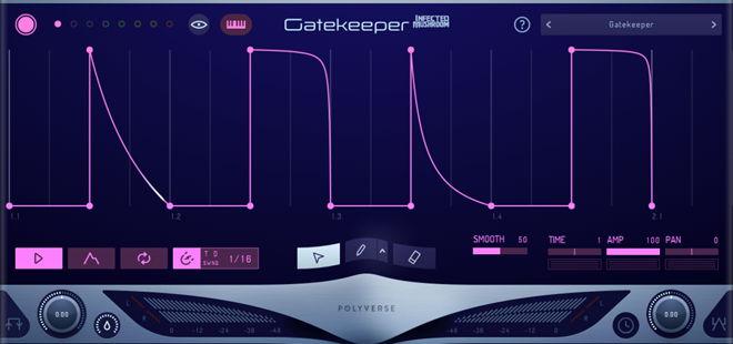 Polyverse Gatekeeper VST Plugin GUI
