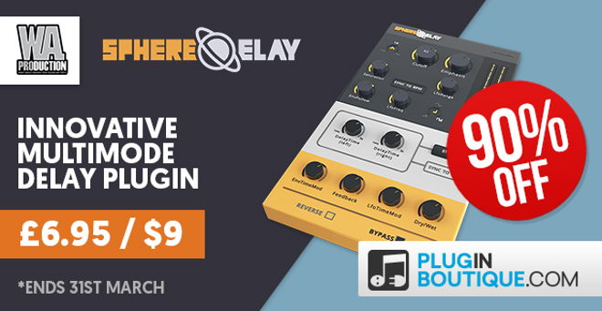 SphereDelay VST Plugin DEAL