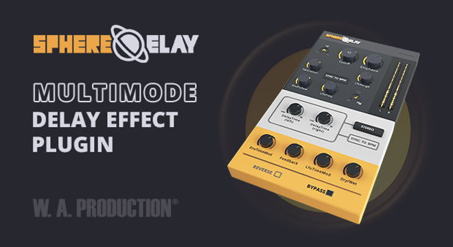 SphereDelay VST Plugin