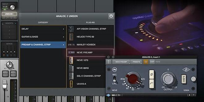 UAD Audio Intros Neve Preamp Plugin • ProducerSpot
