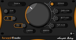 faSampleDelay FREE Delay Effect Plugin by Forward Audio