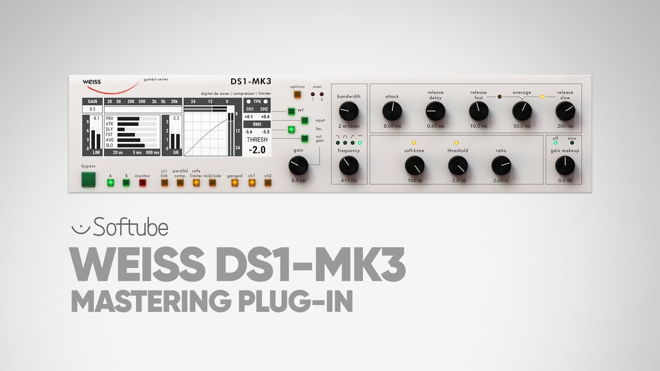 Buy Weiss DS1-MK3 Mastering Plugin