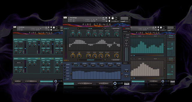 Fire Strings Kontakt Instrument