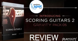 Review: Scoring Guitars 2 For GRAVITY by Heavyocity