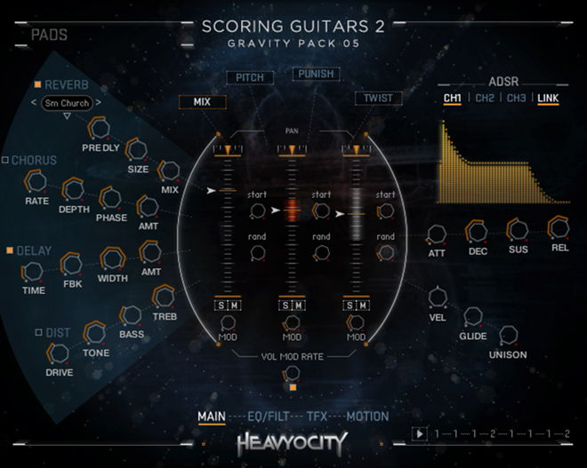Gravity Scoring Guitars 2