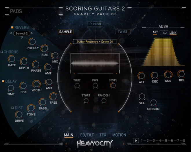 Scoring Guitras 2 Sample