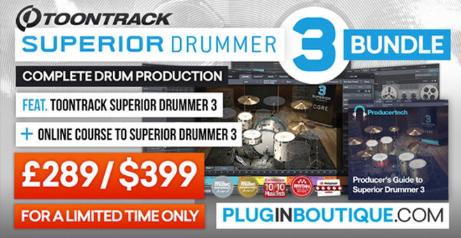 Superior Drummer 3 BUndle