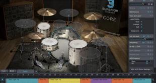 Superior Drummer 3 Virtual Drum Machine Plugin