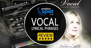 Vocal Lyrical Phrases Kontakt Library