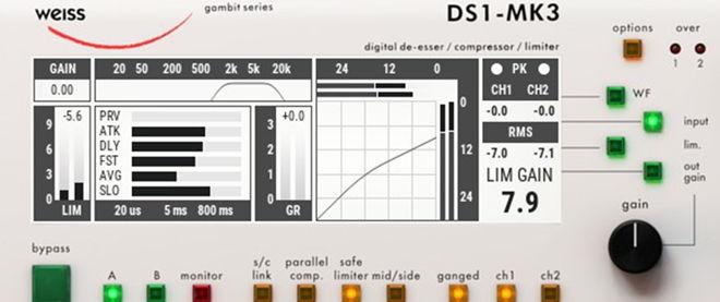 Weiss DS1-MK3 Plugin 1