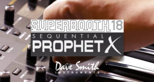 Dave Smith Prophet X Synthesizer Superbooth18