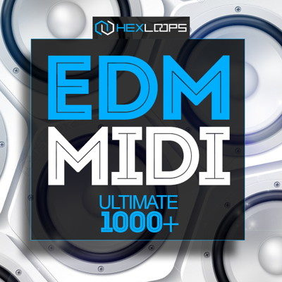 EDM MIDI Loops MIDI Files Pack
