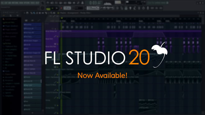 FL Studio 20 - Available Now - Windows & MAC | ProducerSpot