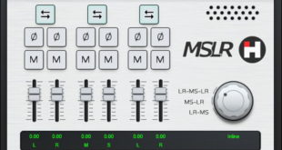 MSLR FREE Mid/Side Processing VST Plugin By HASound