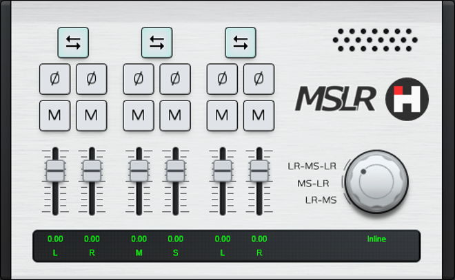 MSLR Audio Processor VST Plugin
