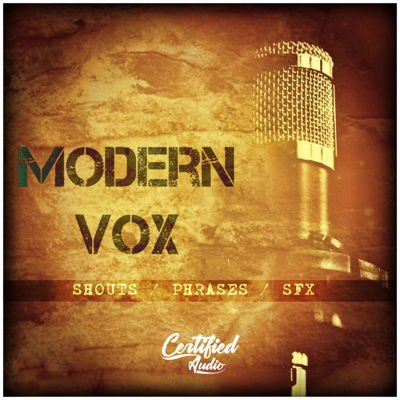 Modern Vox Vocal Sample Pack