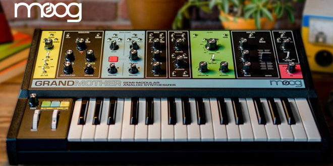 New GRANDMOTHER Synthesizer Revealed by Moog